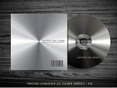 metal style cd cover design