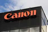 Canon Corporate Headquarters Sign