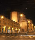 Bologna Night Street Life