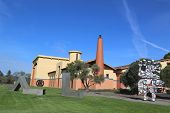 Clos Pegase winery in Napa Valley, California