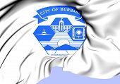 Burbank Coat Of Arms, Usa.