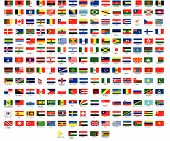 Vector Flags aller Länder