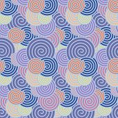 Abstract Seamless Background With  Spirals