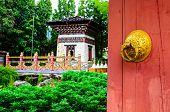 A Traditional Gateway To A Bhutan Enclosure