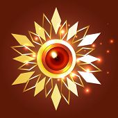 Vector creative diwali  background