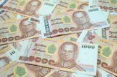 1000 Baht Banknotes