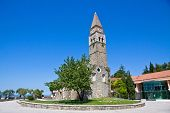 Ancient Monastery San Barnardin, Portoroz, Slovenia