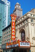 Chicago Theather Sign