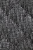 Close - up black fabric texture and background