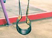 Empty Tire Swing