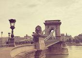 Secheni Bridge in Budapest