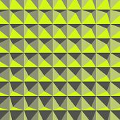 stock photo of tetrahedron  - Abstract 3d geometric pattern - JPG