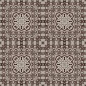 Seamless graphic pattern on canvas