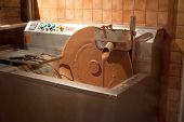 Machine Making Chocolate