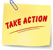 Take Action Message Illustration