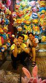 Vietnam Lantern Street, Open Air Market