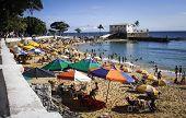 Salvador beach scene