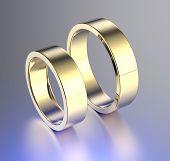 Wedding  Ring. Fashion Jewelry background