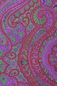 ornamental fabric texture