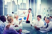 Business People Working and Success Concept