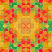 Vector Abstract Futuristic Pattern