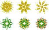 Floral Spica Symbols