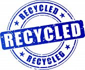 Recycled Stamp Icon