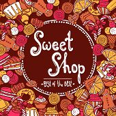 Sweet Shop Background