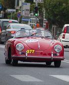 OLD CAR Porsche 356 1500 Speedster 1955 MILLE MIGLIA 2014