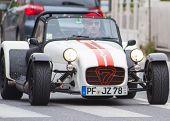 OLD CAR Lotus seven MILEL MIGLIA 2014