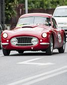 old car Berlinetta 1953 di FIAT 8V mille miglia 2014