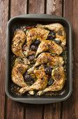 Baked Chicken Drumstick With Vegetable