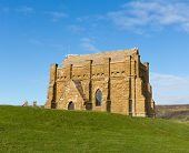 St Catherines Chapel Abbotsbury Dorset England UK church on top of a hill