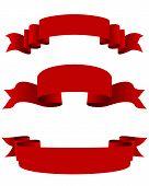 Three Red Ribbons
