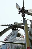 Military Helicopter Rotor Blade Detail