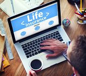 Life Insurance Protection Safety Retirement Concepts