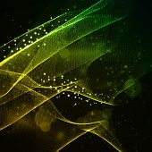 Futuristic Wave Abstract background