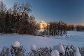 Pavlovsky Palace In Winter
