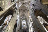 Cathedral Saints-Michel-et-Gudule de Bruxelles, Belgium