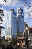 Istanbul, Turkey - January 15, 2015: Is Bank Towers View, Located In Levent District. This Structure