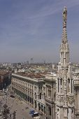 View From The Top Of The Duomo Basilica