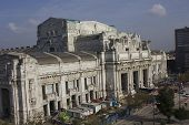 Overview Of Milano Central Station Building