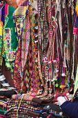 Souvenir and Handicraft Stand in La Paz, Bolivia