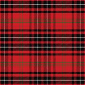stock photo of kilt  - vector seamless pattern Scottish tartan - JPG