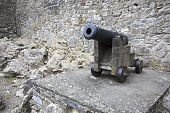 Gun in the Cahir Castle.