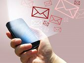 Electronic Communication - Sending E-mails From Mobile Phone