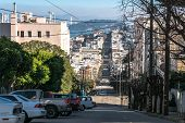 The street of San Francisco