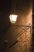 Street Lamp at night.