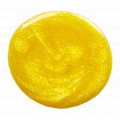 Blot Of Yellow Nail Polish
