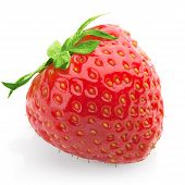 Strawberry With Isolated Background
